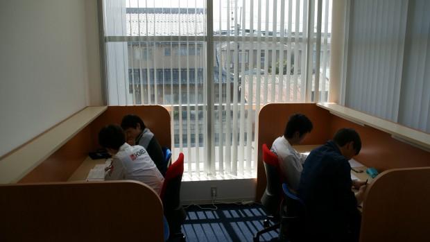 教室完成&授業風景