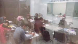 テスト前自習室