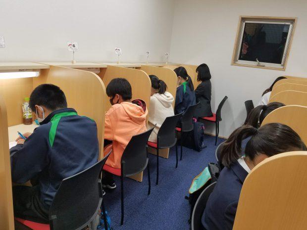 たくさんの子が通う自習室