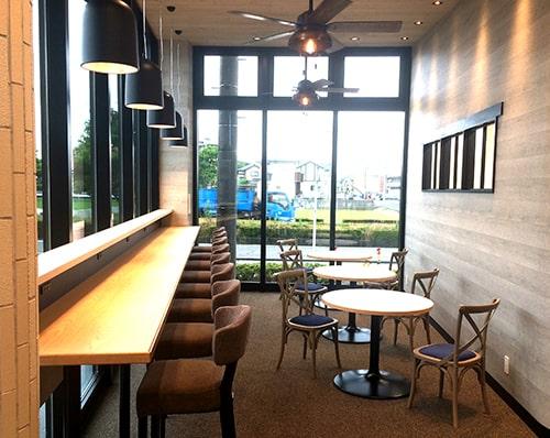 カフェのようなフリースペース