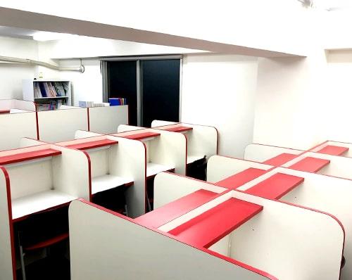 自習室全体